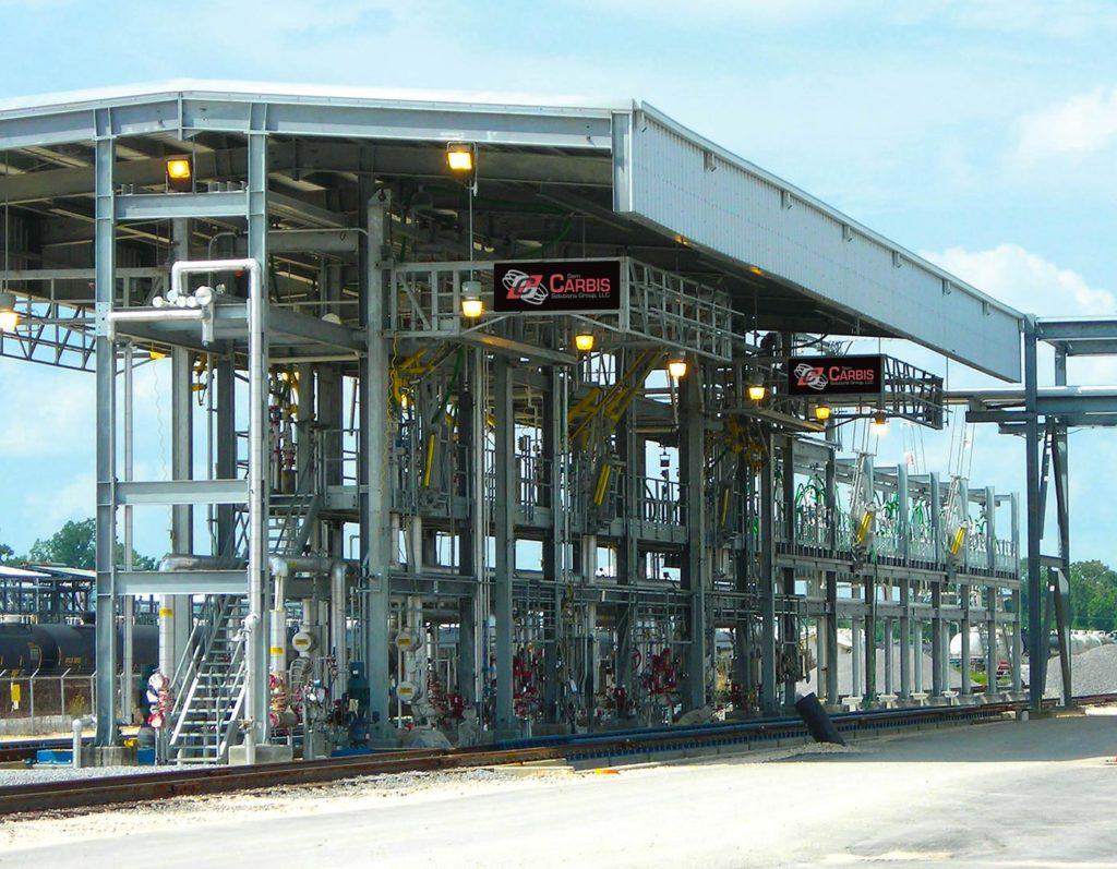 rail car access terminal