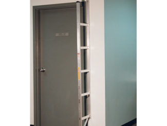 safety access ladder, aluminum ladder, attached ladder, folding
